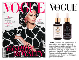VOGUE L'abeille skincare feature