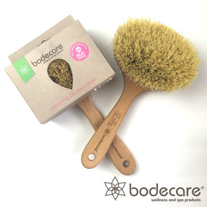 Bodecare medium firm brush with box