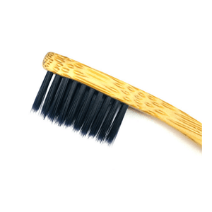 Bodecare Slim Bamboo Toothbrush brush head
