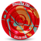 Red Yellow Green Splashes Aluminum Sidekick PRO Unresponsive YoYo
