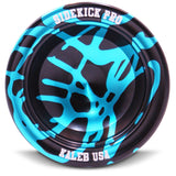 Light Blue & Black Aluminum Sidekick PRO YoYo - REsponsive - SK-RE-LtBlu-Blk