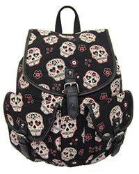 Sugar Skull Backpack - Pretty Heels