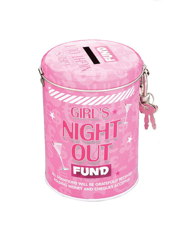 Girls' Night Out Fund Tin - Pretty Heels