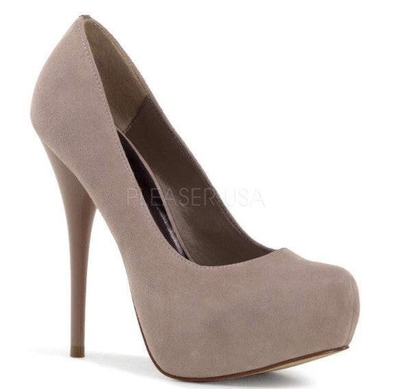 Gorgeous Blush High Heels - Pretty Heels