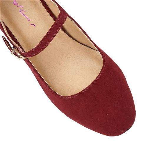 Kiko Burgandy Red - Pretty Heels - 4