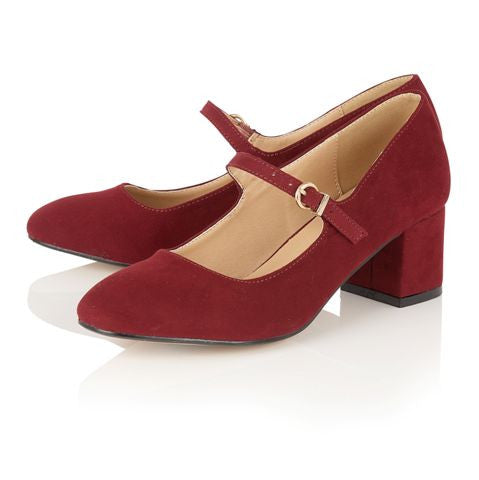 Kiko Burgandy Red - Pretty Heels - 3