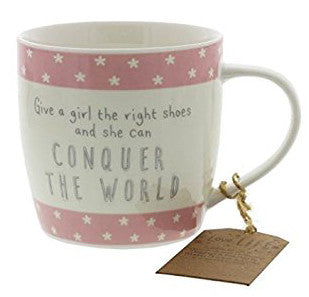 The Right Shoes Mug - Pretty Heels
