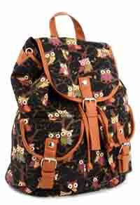 Owl Backpack Black - Pretty Heels - 2