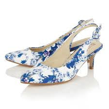 Seneca Blue & White - Pretty Heels - 2
