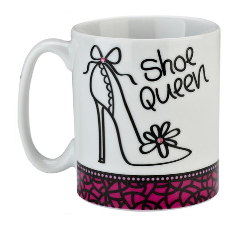 Shoe Queen Mug - Pretty Heels