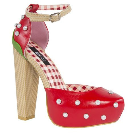 Strawberry Lips High Heels - Pretty Heels - 1