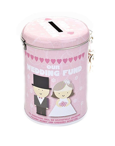 Wedding Fund Tin - Pretty Heels