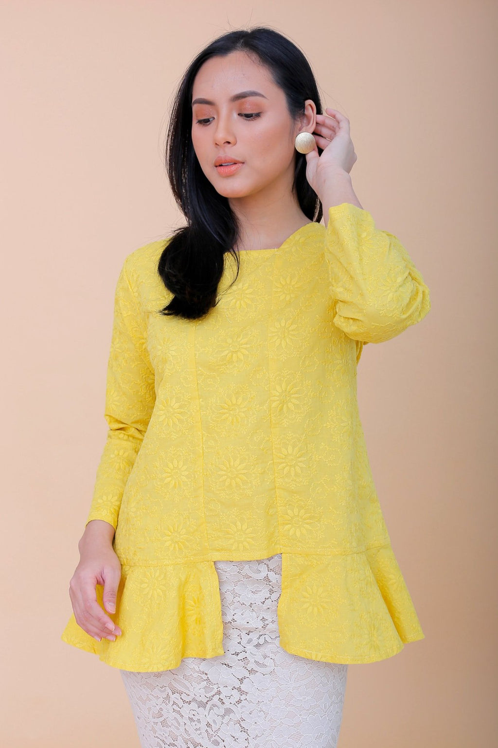 Melati Mini Kebaya Yellow