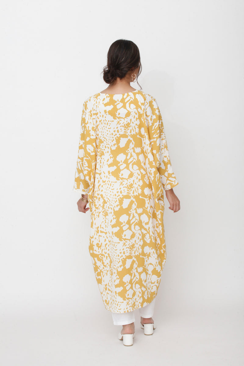 Marissa Kaftan Yellow