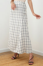 Nia Plaid Skirt
