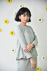 Aya Top Dusty Green