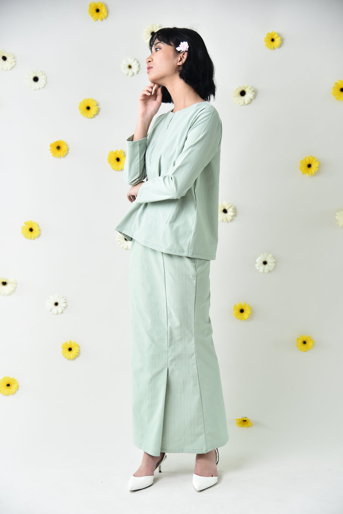 Rika Kurung Set Green