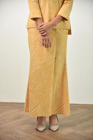 Ami Batik Skirt Yellow