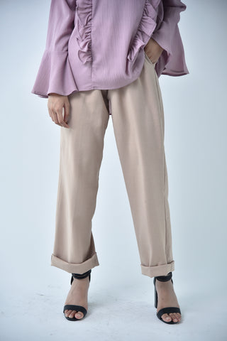 Medium Pencil Pants Brown