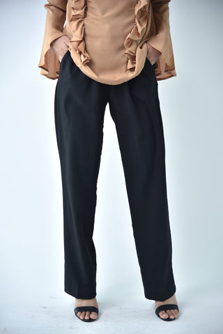 Medium Pencil Pants Black