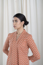 Tiara Kebaya Top Orange