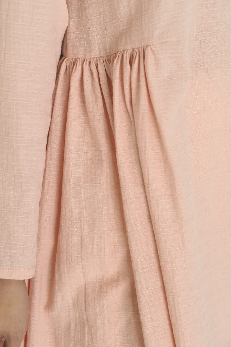 Freya Plain Midi Top Pink