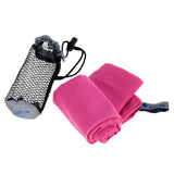 Soft, Super Lightweight Fast Drying Microfiber Towel for Outdoors, Camping, Gym, Swimming and Travel