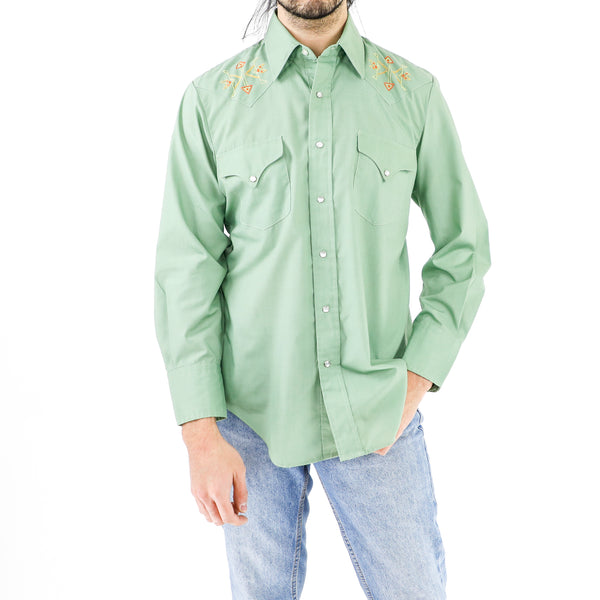 Indian Sage Green Shirt