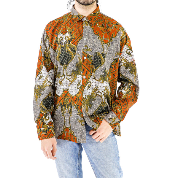 Damask Dynasty Cotton Shirt