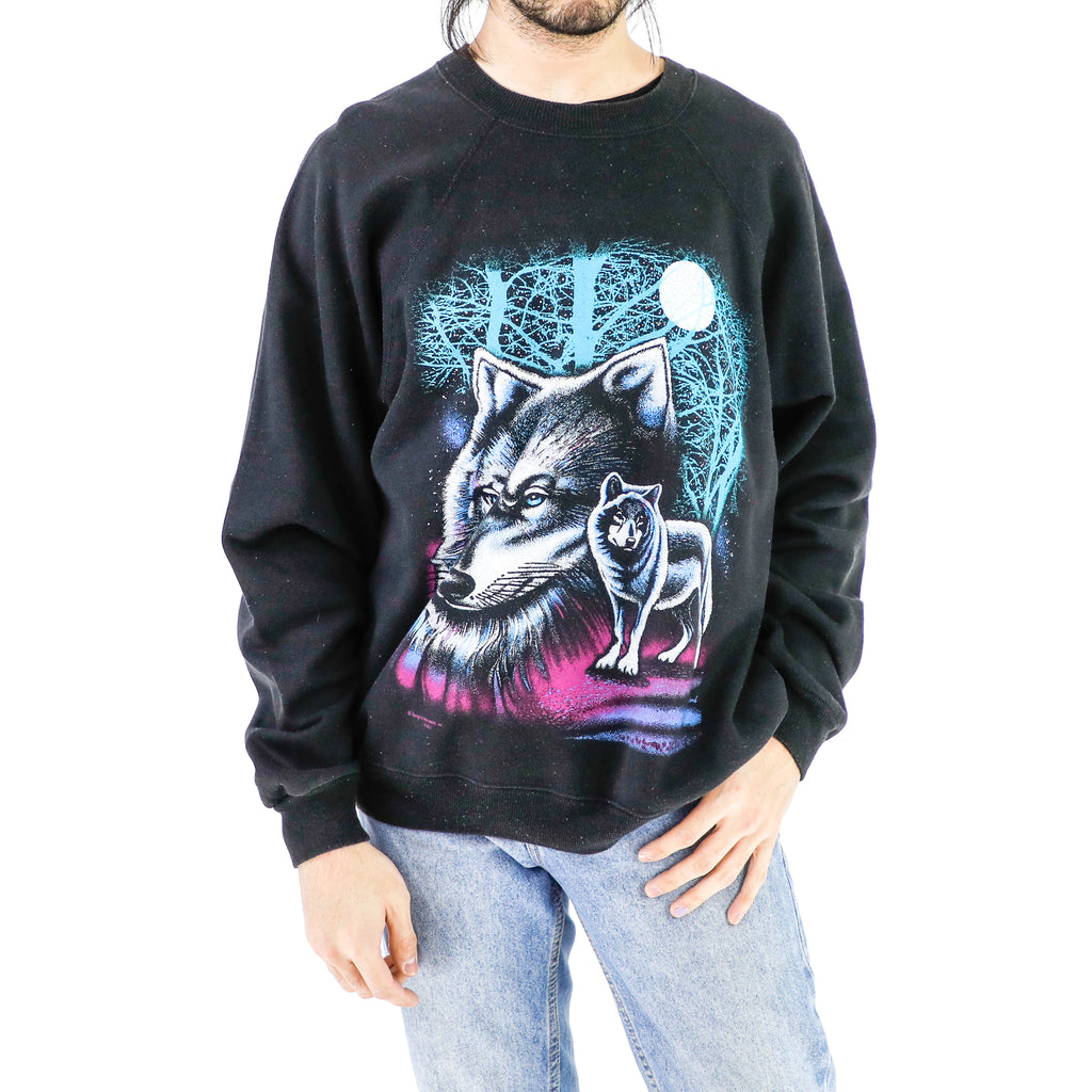 Wolf Graffiti Sweatshirt