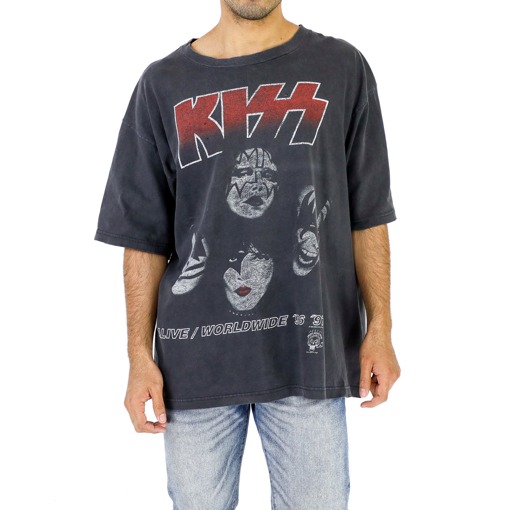 Kiss - Alive / Worldwide '96 - '97 Vintage Tshirt