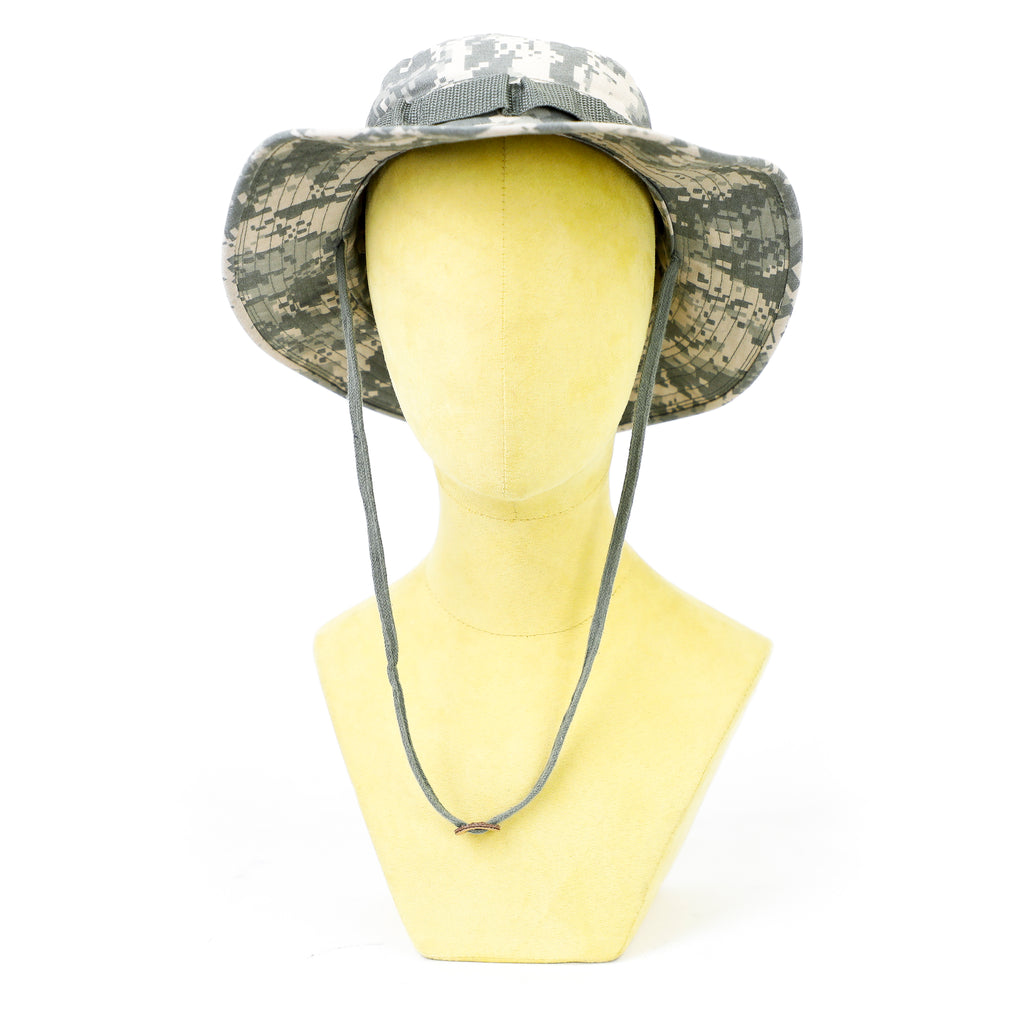 Ivory Gray Camouflage Safari Hat