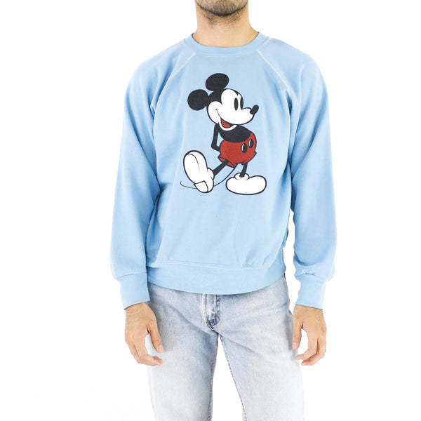 Baby Blue Mickey Sweatshirt