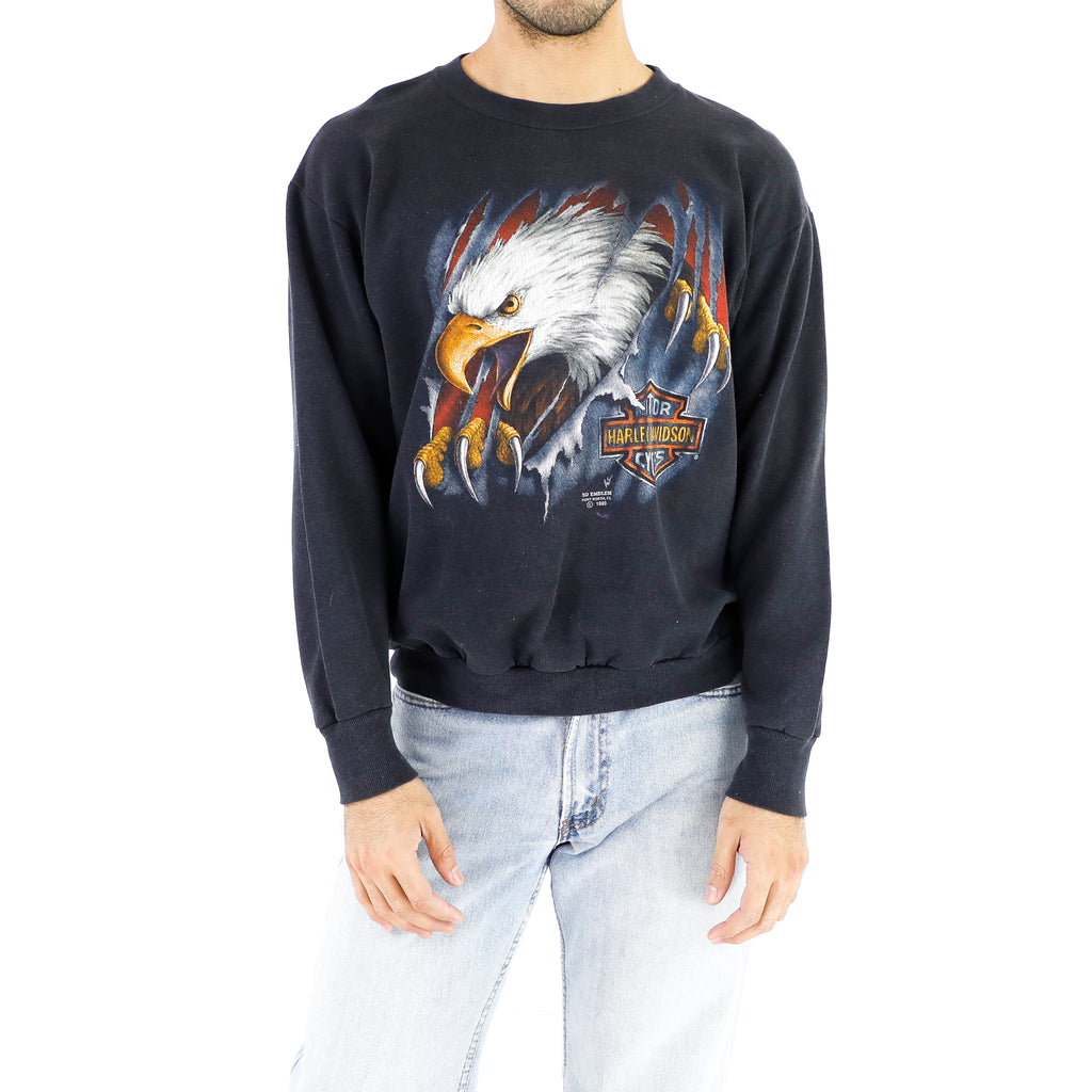 Bald Eagle Harley Davidson T-Shirt