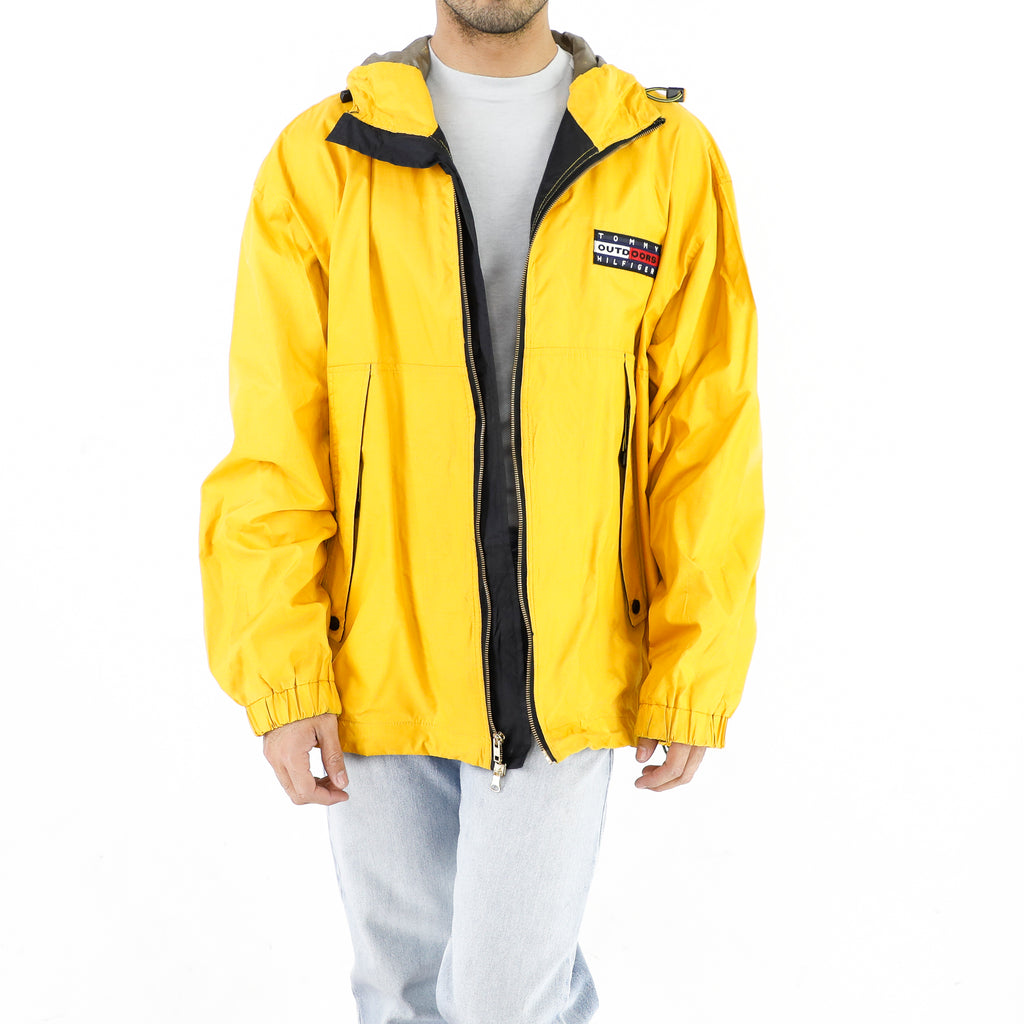 Tommy Hilfiger Outdoors Vintage Yellow Raincoat