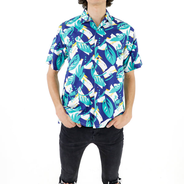 Blue Leaves Shirt