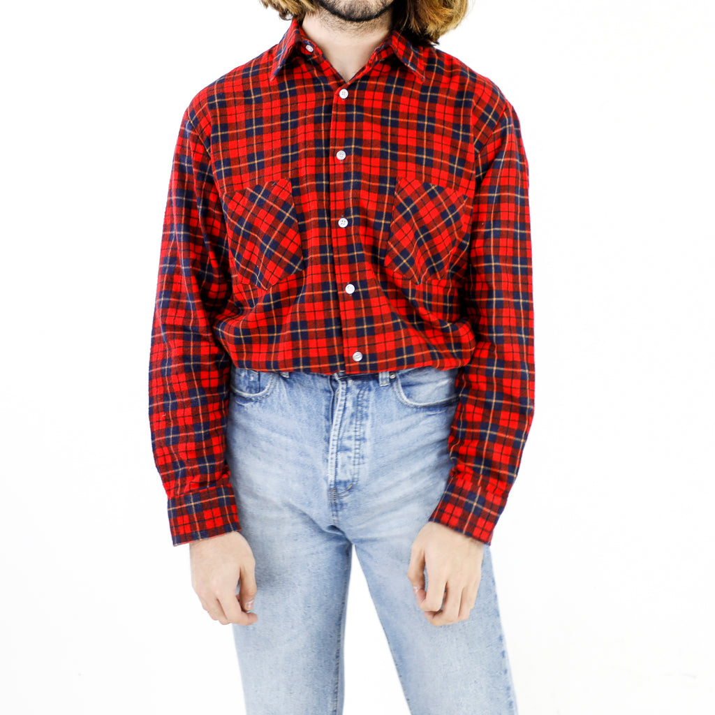 The Red Tartan Shirt