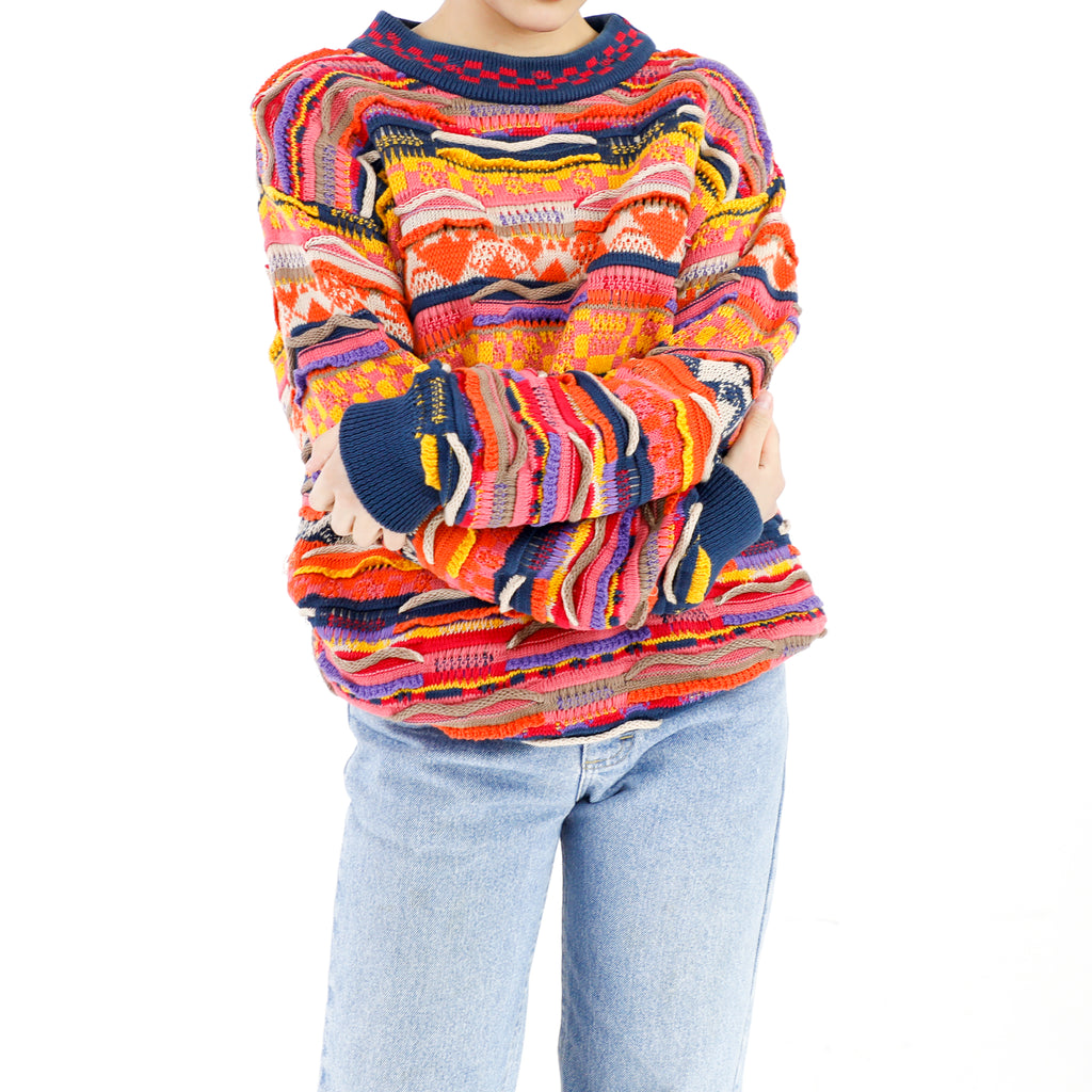 Colorful Cotton 80's Coogi