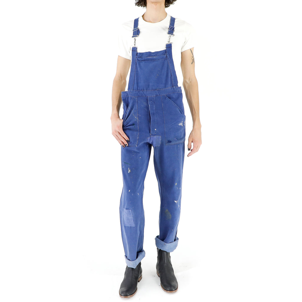 Vintage French Workwear Overall