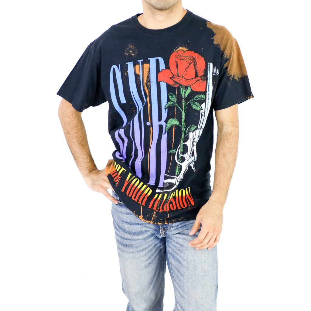 Guns N' Roses - Use Your Illusion Tour 1992 Vintage Tshirt