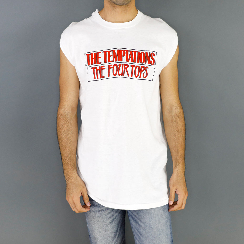 The Temptations & The Four Tops T.N.T. Vintage Tshirt