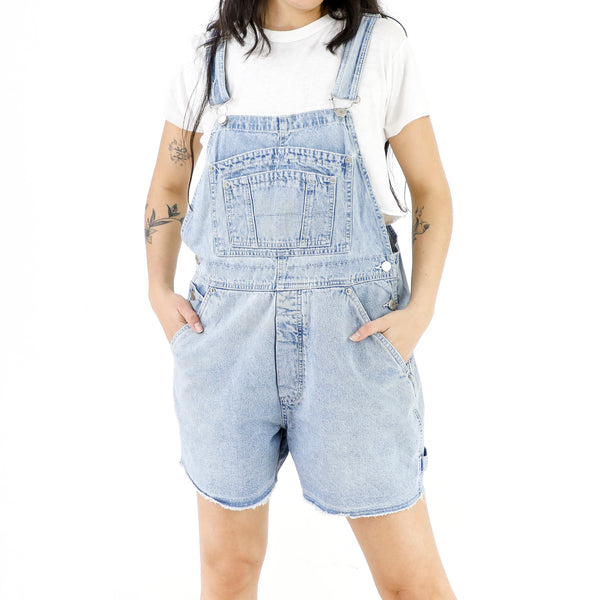 Baby Blue Denim Overall