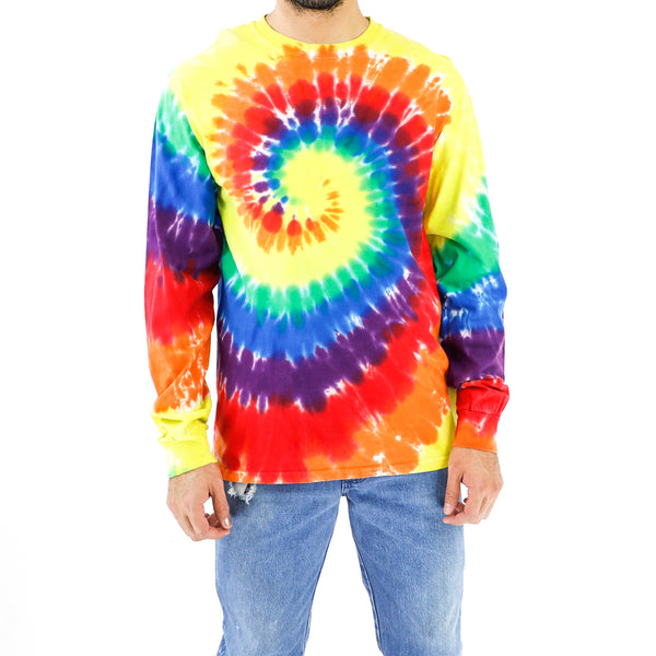 Colorful Cotton Tie-dye Sweatshirt