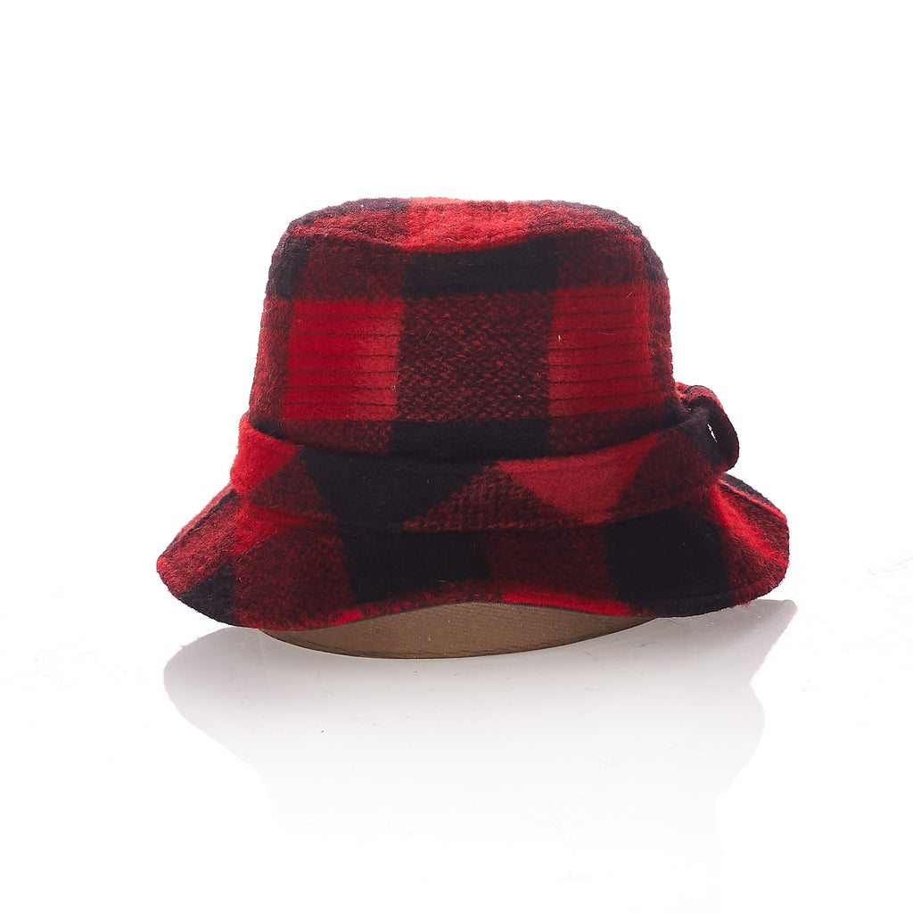 Lumberjack wool bucket hat