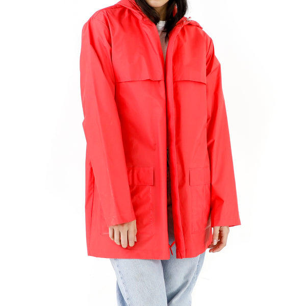 Imperial Red Raincoat