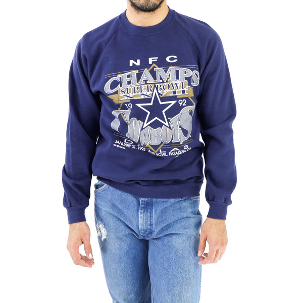 NFC's Super Bowl XXVII Dallas Cowboys Indigo Sweatshirt