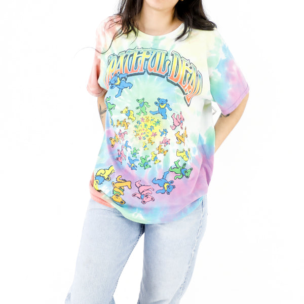 Grateful Dead Rainbow Tie-Dye T-Shirt