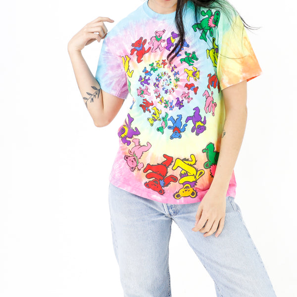 Rainbow Bears Tie-Dye T-Shirt
