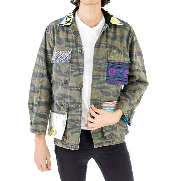 Party Pockets Camouflage Jacket