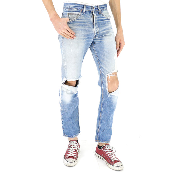 Ripped Levi's 505 Jeans